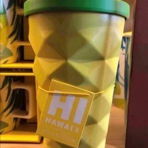 Starbucks Pineapple Tumbler Hawaii 2016